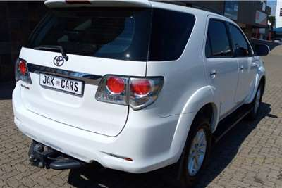 Used 2012 Toyota Fortuner 3.0D 4D 4x4 automatic