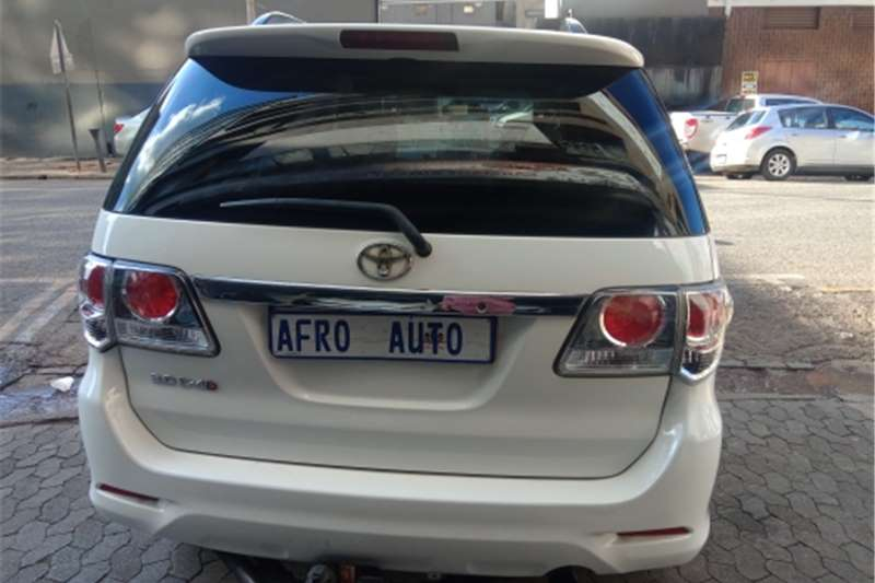 Used 2011 Toyota Fortuner 3.0D 4D 4x4 Heritage Edition