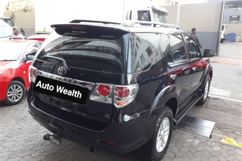 Toyota Fortuner 3.0D 4D 4x4 Heritage Edition automatic 2013