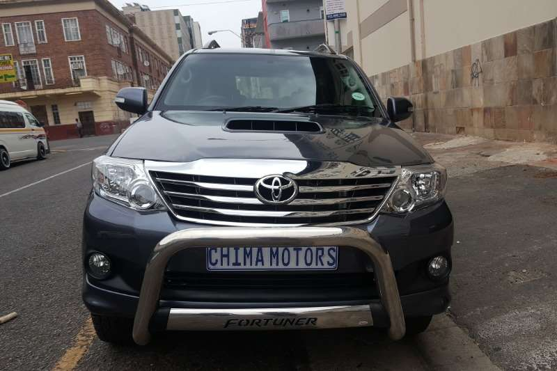 Toyota Fortuner 3.0D 4D 4x4 Ltd edition 2014