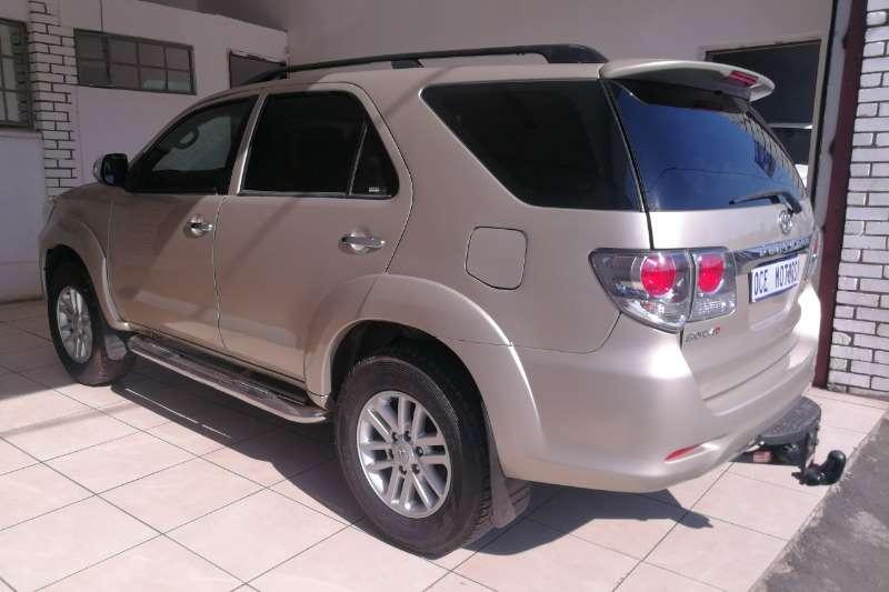Toyota Fortuner 3.0D 4D 4x4 Ltd edition auto 2012