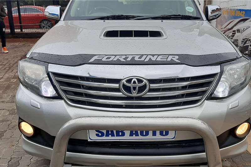 Toyota Fortuner 3.0D 4D 4x4 Ltd edition auto 2012
