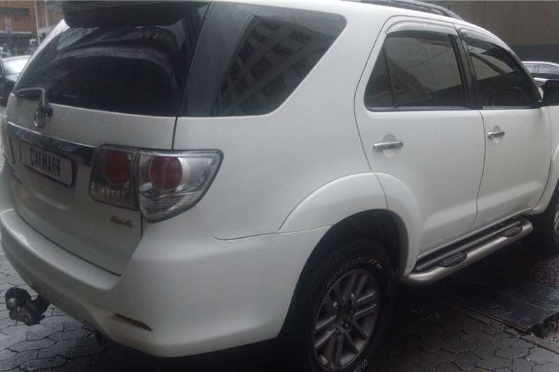 Toyota Fortuner 3.0D 4D 4x4 Ltd edition auto 2013