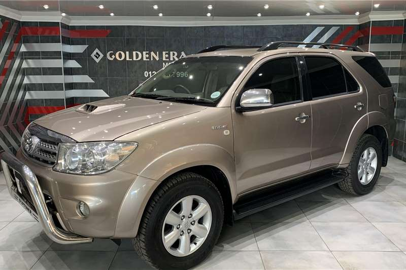 Used 2010 Toyota Fortuner 3.0D 4D auto
