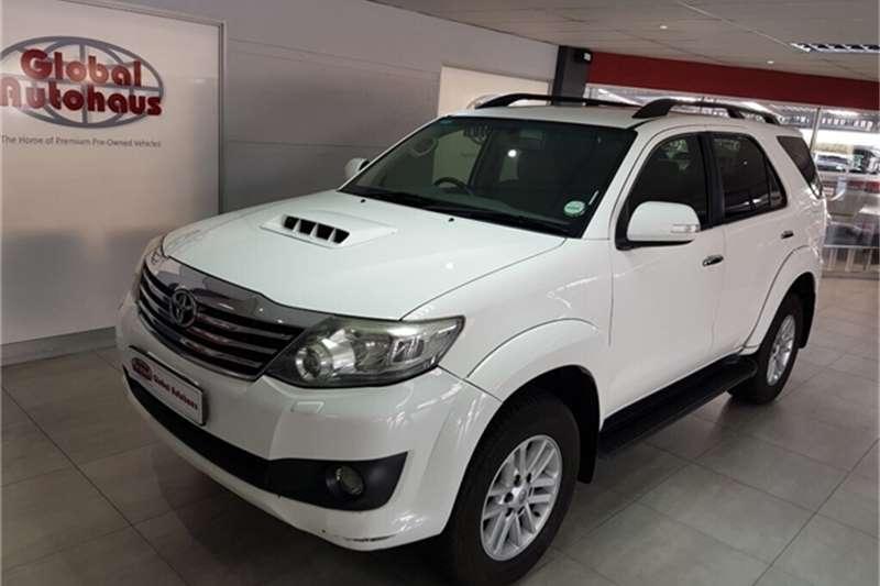 Toyota Fortuner 3.0D 4D auto 2012