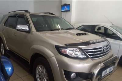 Used 2015 Toyota Fortuner 3.0D 4D auto