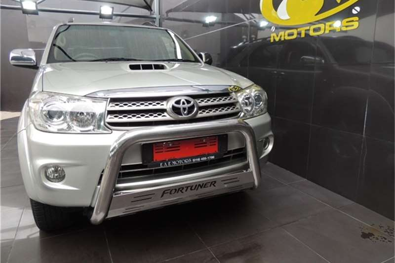 2009 Toyota Fortuner Fortuner 3.0D-4D automatic