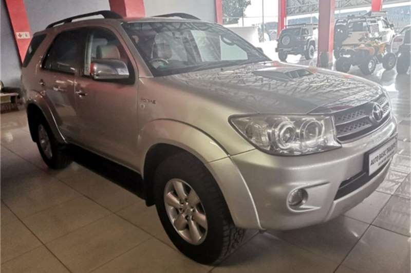 Used 2009 Toyota Fortuner 3.0D 4D automatic