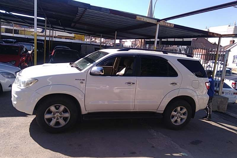 Used 2010 Toyota Fortuner 3.0D 4D automatic