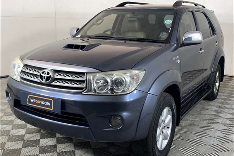 2010 Toyota Fortuner Fortuner 3.0D-4D automatic