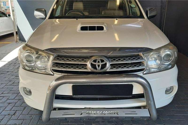 2011 Toyota Fortuner Fortuner 3.0D-4D automatic