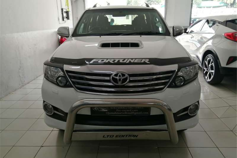 Toyota Fortuner 3.0D 4D automatic 2013