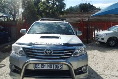 Used 2012 Toyota Fortuner 3.0D 4D Epic auto