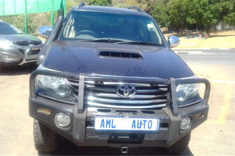 Toyota Fortuner 3.0D 4D Heritage Edition 2012