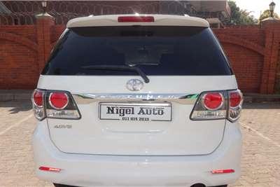 Toyota Fortuner 3.0D 4D Ltd edition auto 2011