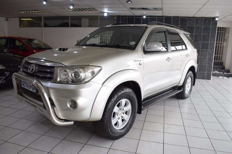 Toyota Fortuner 3.0D 4D (One owner) 2009