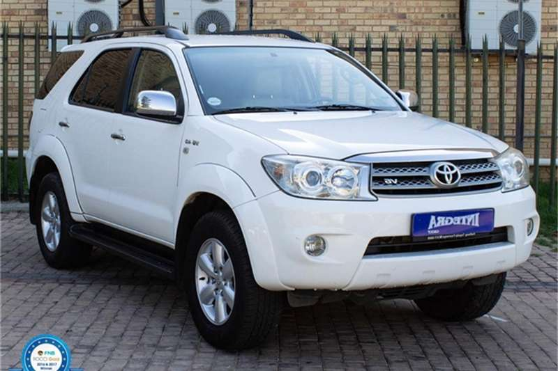 Toyota Fortuner 4.0 V6 2011