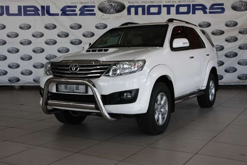 2012 Toyota Fortuner 3.0D 4D Heritage Edition