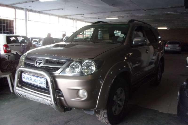 2010 Toyota Fortuner 3.0D 4D 4x4 Ltd edition auto