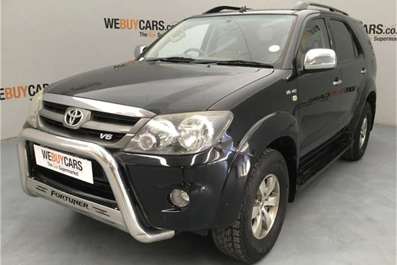 2007 Toyota Fortuner V6 4.0 4x4 automatic