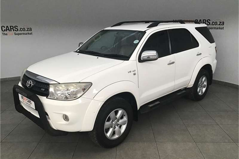 2009 Toyota Fortuner V6 4.0 Epic