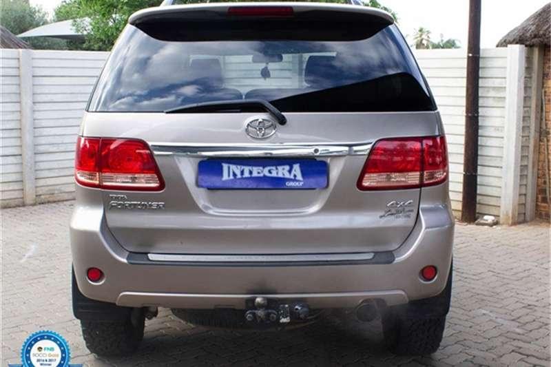 2007 Toyota Fortuner V6 4.0 4x4
