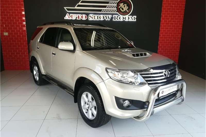 2012 Toyota Fortuner 3.0D 4D Heritage Edition automatic