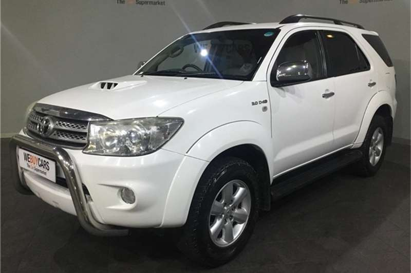 2011 Toyota Fortuner 3.0D 4D 4x4