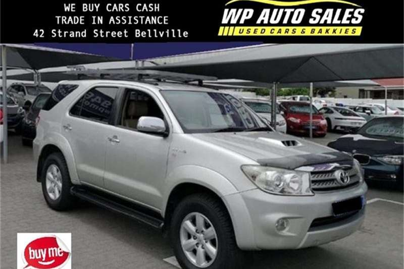 2010 Toyota Fortuner 3.0D 4D 4x4