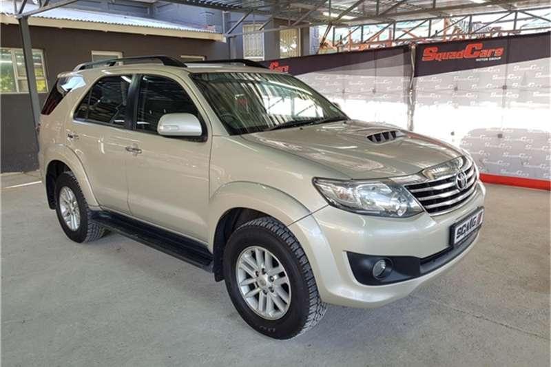 2013 Toyota Fortuner 2.5D 4D auto