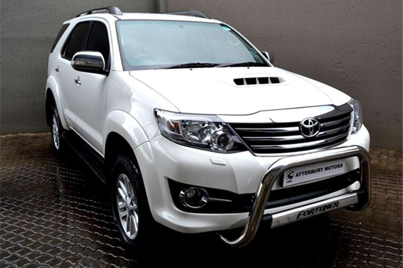 2015 Toyota Fortuner 3.0D 4D auto