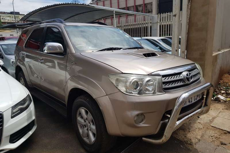 2009 Toyota Fortuner 3.0D 4D automatic