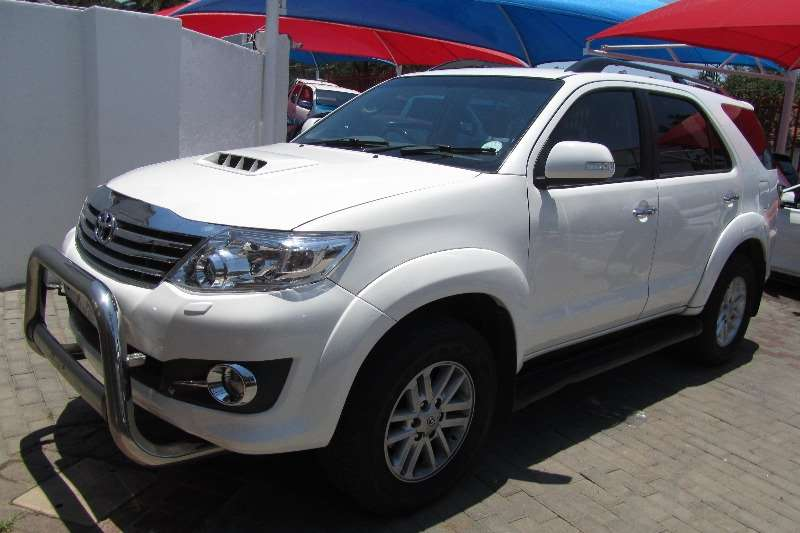 2013 Toyota Fortuner 3.0D 4D 4x4 auto