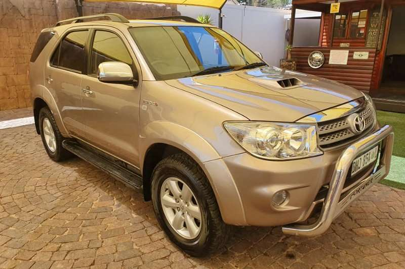 2009 Toyota Fortuner 3.0D 4D 4x4