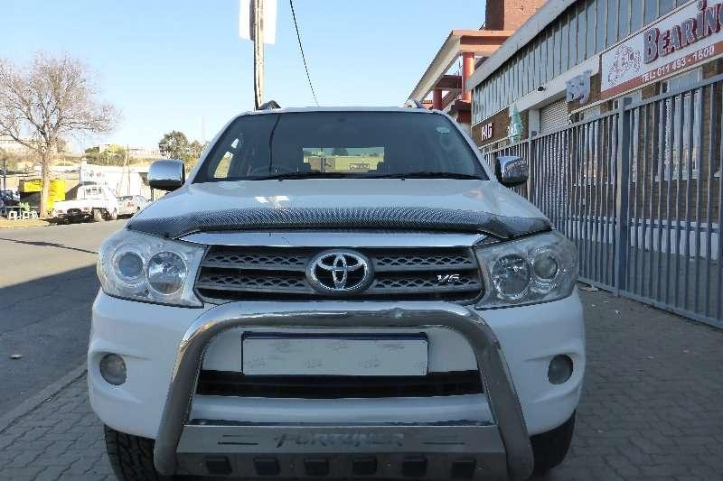 2012 Toyota Fortuner 4.0 V6