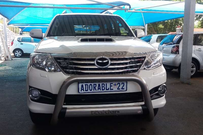 2013 Toyota Fortuner 3.0D 4D 4x4 Limited