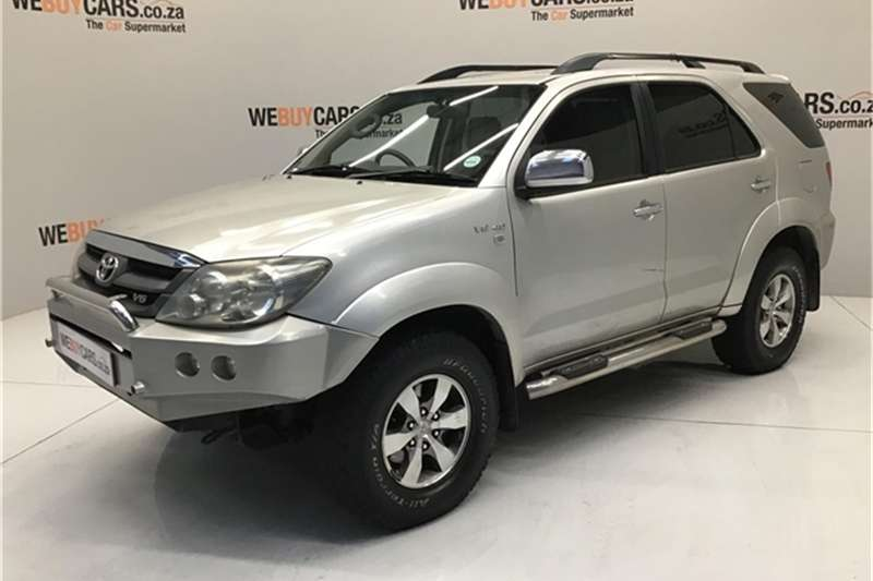 2008 Toyota Fortuner V6 4.0 4x4 automatic