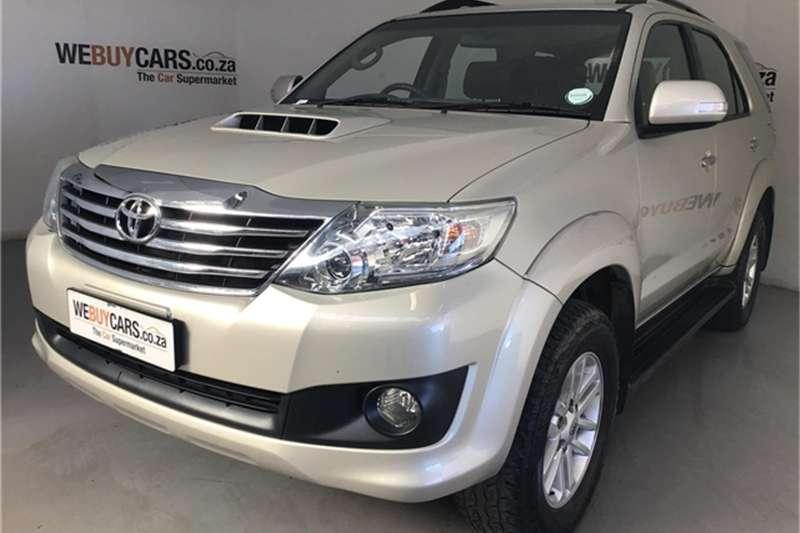 2013 Toyota Fortuner 2.5D 4D