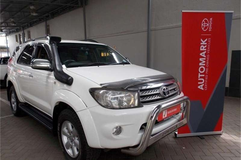 2010 Toyota Fortuner V6 4.0 4x4