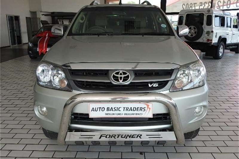 2009 Toyota Fortuner V6 4.0 4x4 automatic