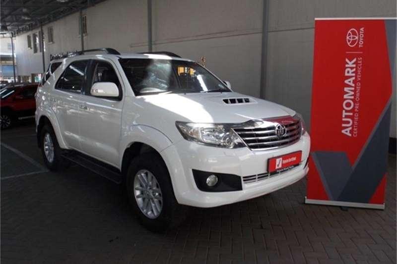 2014 Toyota Fortuner 3.0D 4D