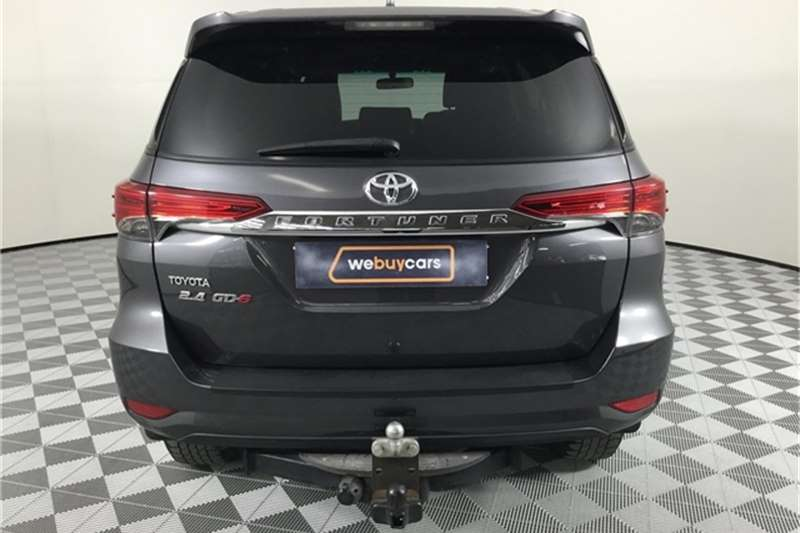 2017 Toyota Fortuner 2.4GD 6