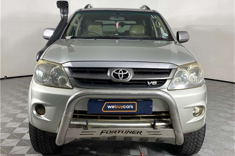2007 Toyota Fortuner Fortuner V6 4.0 4x4 automatic