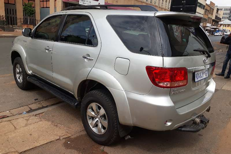 Toyota Fortuner V6 4 0 4x4 automatic 2008
