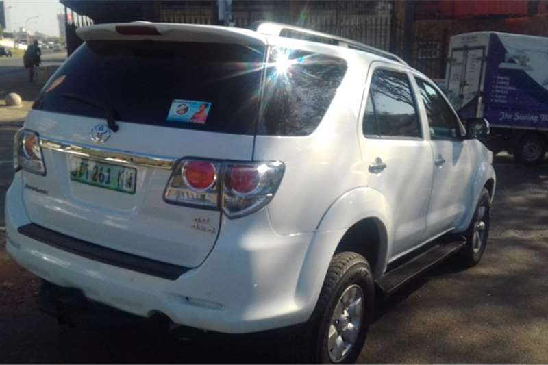 Toyota Fortuner V6 4.0 4x4 automatic 2008