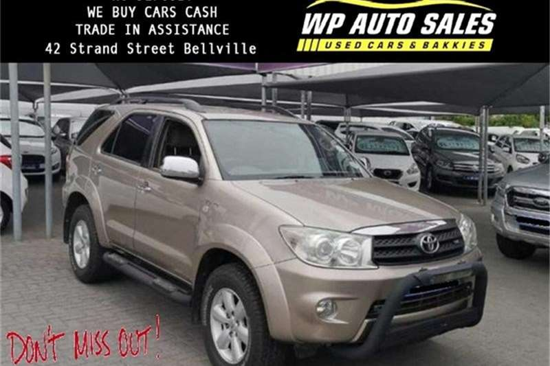 Toyota Fortuner V6 4.0 4x4 automatic 2009