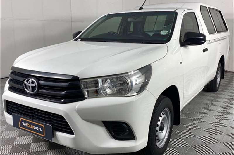 2016 Toyota Hilux Hilux 2.0 (aircon)