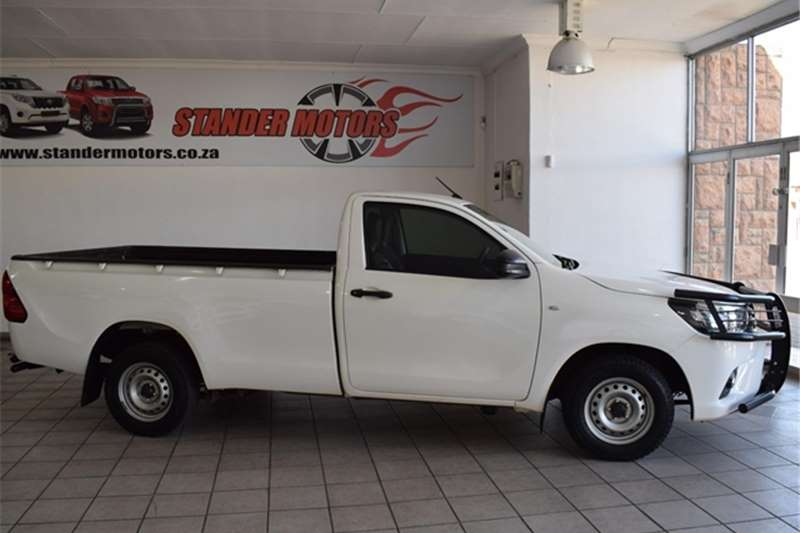 2017 Toyota Hilux Hilux 2.0 (aircon)