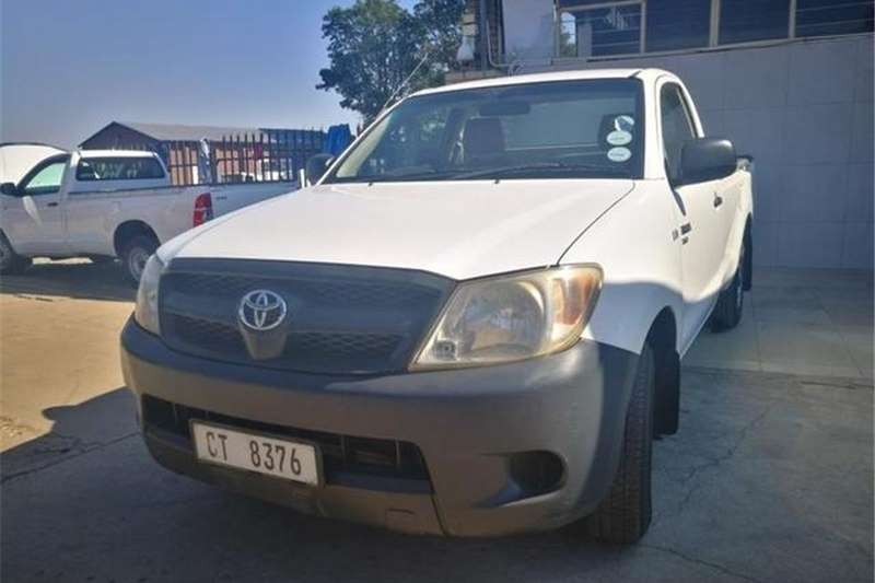 Toyota Hilux 2.0 chassis cab 2007