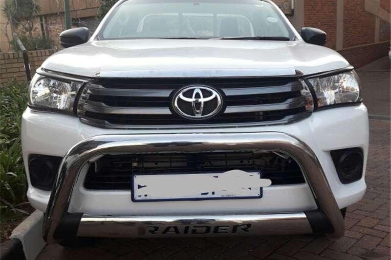 Toyota Hilux 2.0 SRX 2016